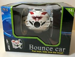 PEG 88 2.4GHz Red White RC Jumping Bounce Car $30.02