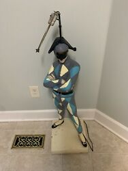 Marbro Harlequin Jester Lamp floor table collector lamp $299.99