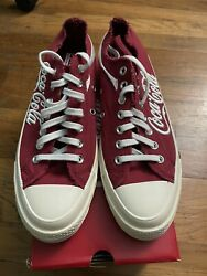 100% Authentic Coca Cola Converse Chuck Taylor Kith All Star Size 9. $170.00