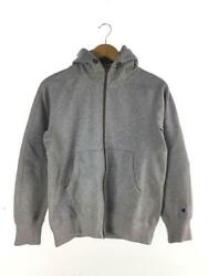 Champion Back Hair Zip Hoodies Cas120 S Polyester Gray String Polyester Parka $150.73
