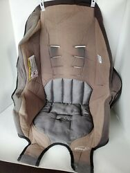 Evenflo Tribute 2015 Booster Seat Cover Fabric Replacement Padding Gray $10.00