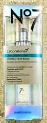 No7 Laboratories Line Correcting Booster Serum 0.5 Oz New And Sealed LOW PRICE $23.99