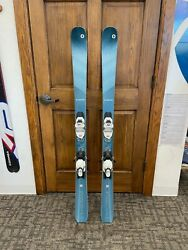 2020 #x27;21 Blizzard Black Pearl 82 145cm ASK FOR PHOTOS OF YOUR SKI $399.99