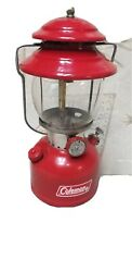 Vintage Coleman 200A Red Single Mantle Lantern Dated 7 66 With case $130.00