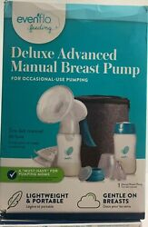 Evenflo Deluxe Advanced Manual Breast Pump For Occasional Pumping Portable BR14 $30.00