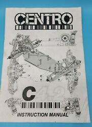 Centro Associated C4.2 Mid Motor Buggy Conversion Instruction Manual RC Parts $21.95