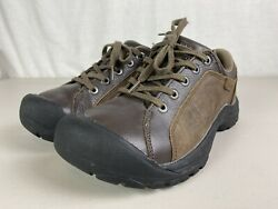 Keen Mens Briggs Cascade Hiking Shoes Brown Black 1011392 Lace Up Low Top 9 $69.99