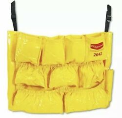 Rubbermaid Commercial Products Caddy Janitorial Bag Brute Trash Can Cleaning
