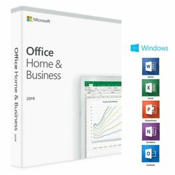 Microsoft Office 2019 Home and Business SEALED PACKAGE Activation Key for 1 PC $90.24