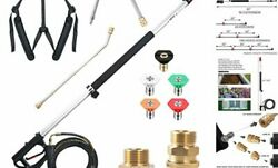 19 FT Pressure Washer Telescoping Extension Wand 4000 PSI Maximum $171.63