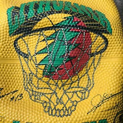 Grateful Dead Lithuania Spalding Basketball 1996 Original NEW Never inflated $350.00