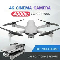 Professional F3 Drones GPS 5G WiFi FPV 4K 3072P HD Wide Angle Camera Foldable OR $178.33