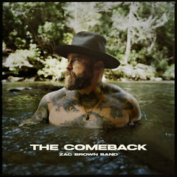 ZAC BROWN BAND CD THE COMEBACK 2021 NEW UNOPENED COUNTRY $17.99