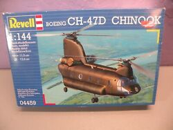 1 144 Revell Boeing CH 47D Chinook Helicopter Open Box Sealed Bag $39.99