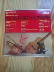 All Time Country Western 33 LP Decca $9.99