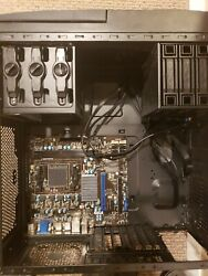MSI Motherboard 760GMA P34 FX No CPU with Ibuypower Case CD ROM $115.00