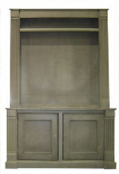 Sherborne FLAT SCREEN Entertainment Center 25 Paints Stains Distress Levels New