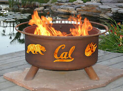 CAL BERKELEY Outdoor Wood Burning Patio Firepit Grill - Fire pit