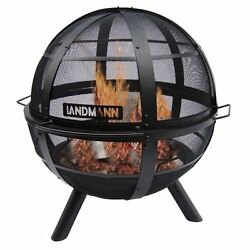 NEW Landmann Ball of Fire Sturdy Outdoor Wood Burning Fireplace - Decks