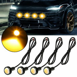3157 LED DRL WhiteAmber Switchback Turn Signal Parking Light Bulbs Dual Color $10.97