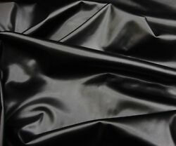 Vinyl Faux Leather Black Two Way Stretch Dance Custom Clothing 58