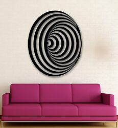 Wall Stickers Vinyl Decal Modern Decor Abstract Style Symbol Illusion ig950 $29.99