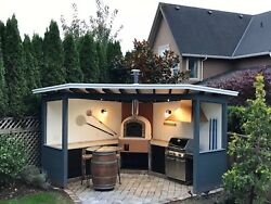 Wood Fired Outdoor Brick Pizza Oven: NEW MODEL COMING IN MARCH