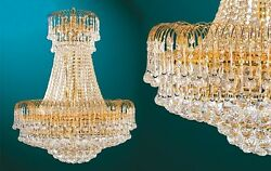 Brand New Elegant Small Sized Crystal Chandelier