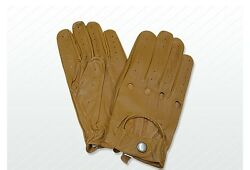 Driving Gloves Leather VINTAGE TRADITIONAL ENGLISH Fastened Driving GBP 12.99
