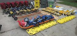Huge MSA Rescue Breathing Air Supply Lot Fire Emergency Response Disaster SCBA