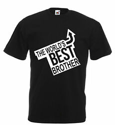 Worlds Best Brother Novelty T Shirt birthday xmas gift novelty adults kids funny GBP 9.99