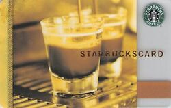 2009 Greece Starbucks Card Coffee as Art $4.99