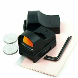 Mini Holographic Reflex Micro 3 MOA Red Dot Sight w/ Picatinny Weaver Mount $23.95