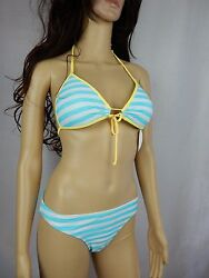 Body Glove RAY OF LIGHT 2pcs swimsuit baby love classic XL Waterfall Striped $46.99