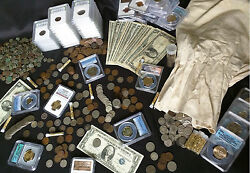 ✯ Estate Lot Sale ✯ Old US Coins ✯ GOLD .999 SILVER CURRENCY PROOF SET PCGS✯ $48.95