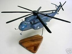 MH 53E Sea Dragon Sikorsky MH53E Helicopter Desktop Wood Model Small New $248.95