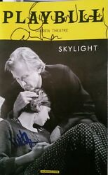 Skylight Signed BROADWAY playbill Carey Mulligan Bill Nighy Matthew Beard