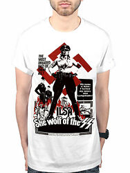 Official Plan 9 Ilsa She Wolf Of The SS New Graphic T-Shirt Movie 1975 Film