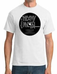 Heavy Metal - Vinyl Print - Mens T-Shirt