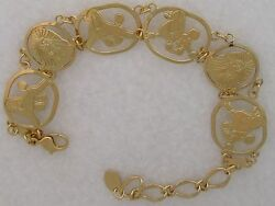 Poodle Jewelry Gold New Design Bracelet by Touchstone Dog Designs $82.50