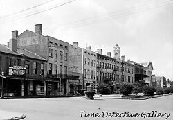 Commercial Buildings on Government St. Mobile AL 1935 Historic Photo Print