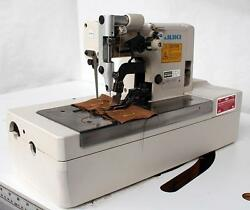 JUKI MBH-180 Buttonhole Chainstitch Industrial Sewing Machine w Table 220V 3PH