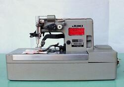 JUKI MBH-180 Buttonhole Chainstitch Heavy Duty Industrial Sewing Machine wTable