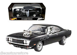 HOT WHEELS THE FAST & THE FURIOUS DOM'S 1970 DODGE CHARGER DIECAST CAR CMC97