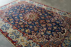 Handmade Hand Knotted Isfahaan Persian Rug persian carpet wool-Size:222x336cm