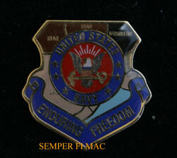 OPERATION ENDURING FREEDOM HAT LAPEL PIN UP US NAVY VETERAN USS OEF Afghanistan $10.89
