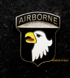 101ST AIRBORNE DIV SCREAMING EAGLES HAT PIN Fort Campbell AIR ASSULAT US ARMY $10.80