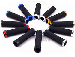 MTB Mountain Bike Bicycle Handlebar Grips Cycling Lock On Ends $6.15
