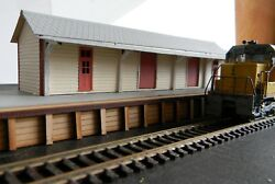HO scale building NSWGR train station Stores shed signal she (KIT) 3 buildings