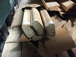 NEW STAIR PARTS WOOD HANDRAIL OR BOTTOM RAIL  16' LONG $4.98 FT.